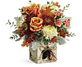 Teleflora's Fall In Bloom Bouquet in San Jose CA, Rosies & Posies Downtown