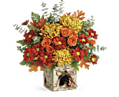 Teleflora's Wild Autumn Bouquet in San Jose CA, Rosies & Posies Downtown