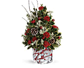 Teleflora's Festive Berries And Holly Tree in San Clemente CA, Beach City Florist