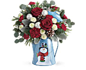 Teleflora's Frosty Enchantment Bouquet in Oklahoma City OK, Capitol Hill Florist and Gifts