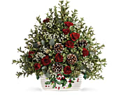 Teleflora's Warmest Winter Tree in San Clemente CA, Beach City Florist