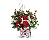 Teleflora's Winterberry Kisses Bouquet in San Clemente CA, Beach City Florist