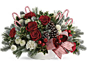Jolly Candy Cane Bouquet in San Clemente CA, Beach City Florist