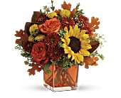 Teleflora's Hello Autumn Bouquet in Los Angeles CA, RTI Tech Lab