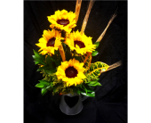 Farmhouse Sunflowers in Needham MA, Needham Florist