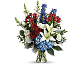 Colorful Tribute Bouquet, picture