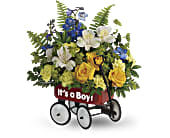 Teleflora's Sweet Little Wagon Bouquet, picture