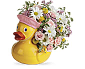 Telelfora's Sweet Little Ducky Bouquet, picture