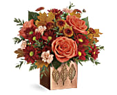 Teleflora's Copper Petals Bouquet, picture