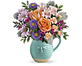 Teleflora's Busy Bee Pitcher Bouquet, picture