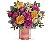 Teleflora's Perfect Spring Peach Bouquet, picture