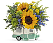 Teleflora's Retro Road Tripper Bouquet, picture