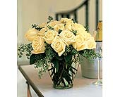 White Roses in New Britain CT, Weber's Nursery & Florist, Inc.