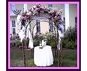 Gazebo with Stargazers in Tuckahoe, New Jersey, Enchanting Florist & Gift Shop