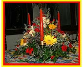 Vibrant Centerpiece in Tuckahoe NJ, Enchanting Florist & Gift Shop