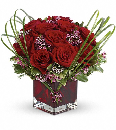 Teleflora's Sweet Thoughts Bouquet with Red Roses in Longview TX - Longview Flower Shop