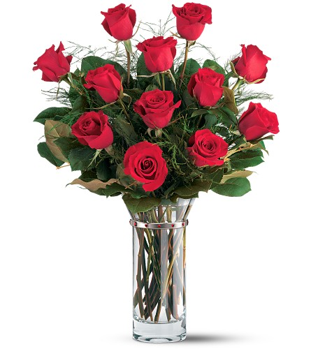 Teleflora's Hearts and Roses Bouquet in San Clemente CA, Beach City Florist