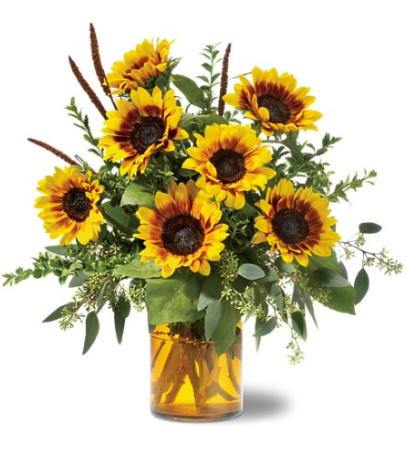 Sunrise Sunflowers in Newbury Park CA, Angela's Florist