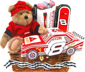 GB172 ''Earnhardt Jr.'' Gift Basket in Oklahoma City OK, Array of Flowers & Gifts