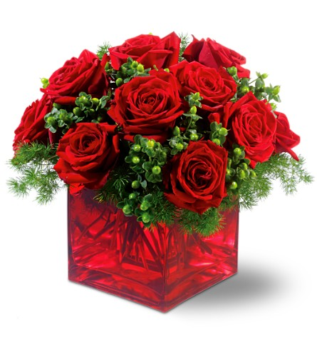 Merry Roses in New York NY, Fellan Florists Floral Galleria