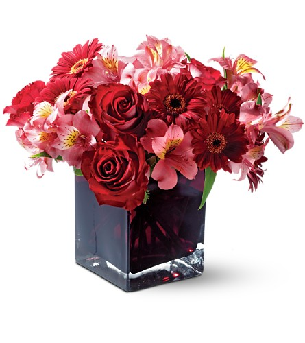 Teleflora's Wild Berry in San Clemente CA, Beach City Florist