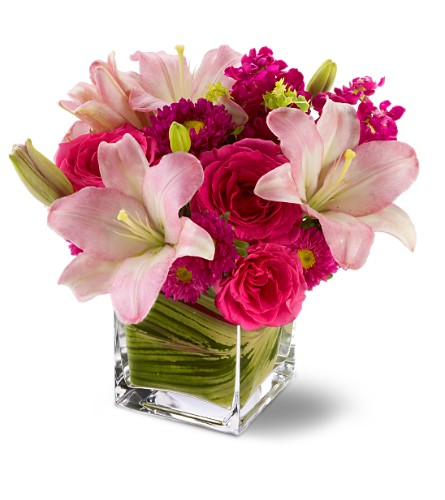 Teleflora's Posh Pinks in San Clemente CA, Beach City Florist