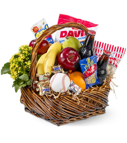 Home Run Basket in Pensacola FL, KellyCo Flowers & Gifts