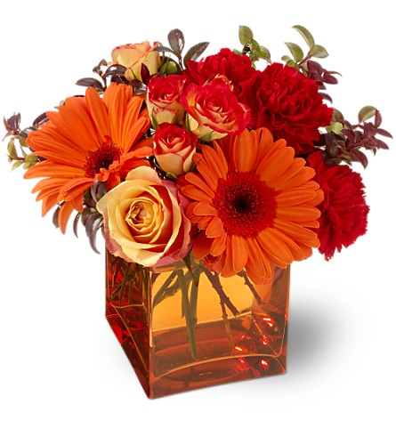 Teleflora's Sunrise Sunset in Homer NY, Arnold's Florist & Greenhouses & Gifts
