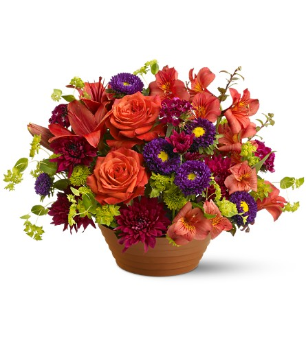 Autumn Celebration in San Clemente CA, Beach City Florist