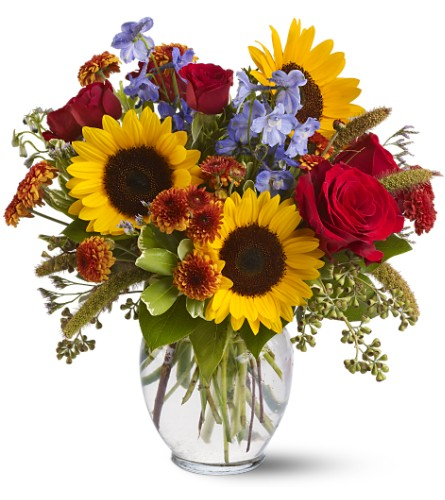 Sunny Skies in San Clemente CA, Beach City Florist