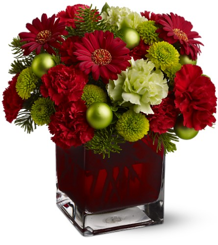 Teleflora's Noël Chic in Naples FL, Gene's 5th Ave Florist