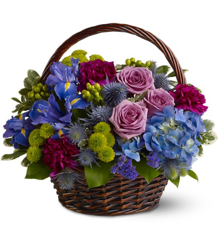 Twilight Garden Basket in Savannah GA, John Wolf Florist