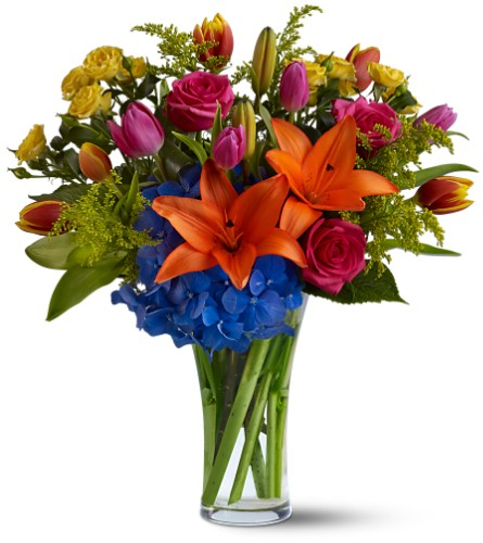 Burst of Color in Fort Worth TX, TCU Florist
