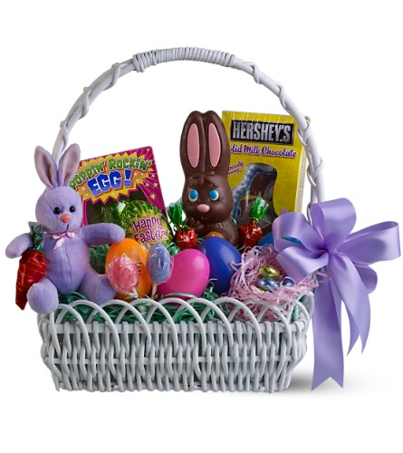 Sweet bunny basket teleflora florist in new york city ny new york ny florist home sweet bunny gift basket view larger negle Gallery