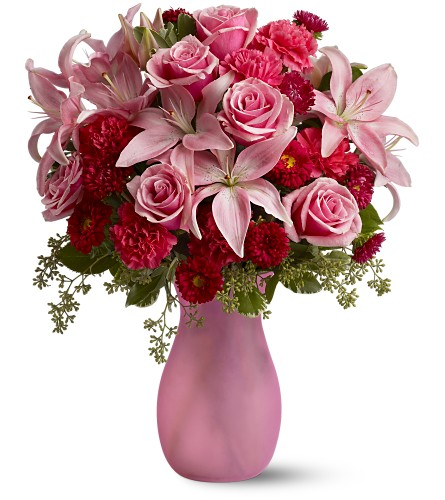 Pink Inspiration in Weymouth MA, Bra Wey Florist
