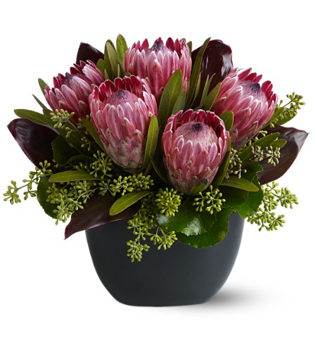 Positively Protea in San Clemente CA, Beach City Florist