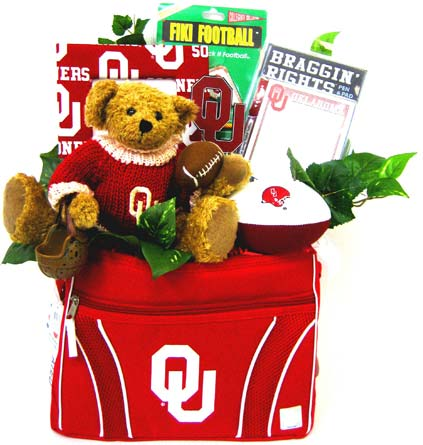 OU31 ''OU Football'' Gift Bouquet in Oklahoma City OK, Array of Flowers & Gifts