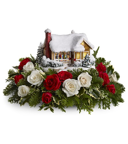 Thomas Kinkade's Childhood Home by Teleflora in Brampton ON, Flower Delight