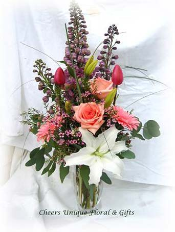 Comfort Beauty in Lake Forest CA, Cheers Floral Creations