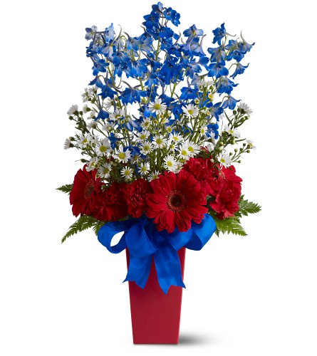 Freedom Fireworks Bouquet in Burlington NJ, Stein Your Florist