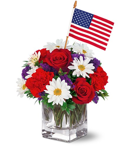 Freedom Bouquet by Teleflora in Abington MA, The Hutcheon's Flower Co, Inc.