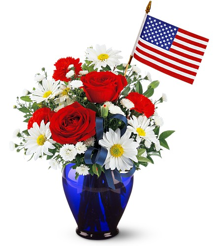 Spirit of America Bouquet in Albany NY, Emil J. Nagengast Florist