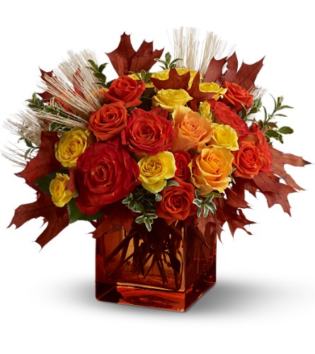 Teleflora's Fine Fall Roses in Salt Lake City UT, Especially For You