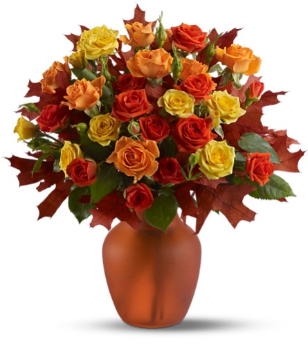 Amber Roses in San Clemente CA, Beach City Florist
