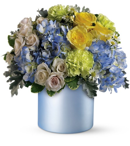 Teleflora's Heavenly Hues Bouquet in Liverpool NY, Creative Florist