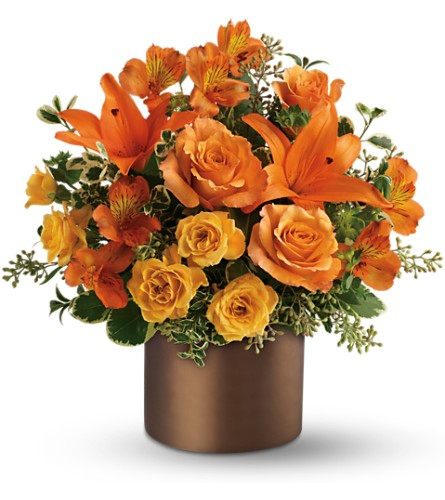 Teleflora's Sunset Glow in Salt Lake City UT, Especially For You