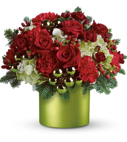 Teleflora's Holiday in Style in Kelowna BC, Burnetts Florist & Gifts