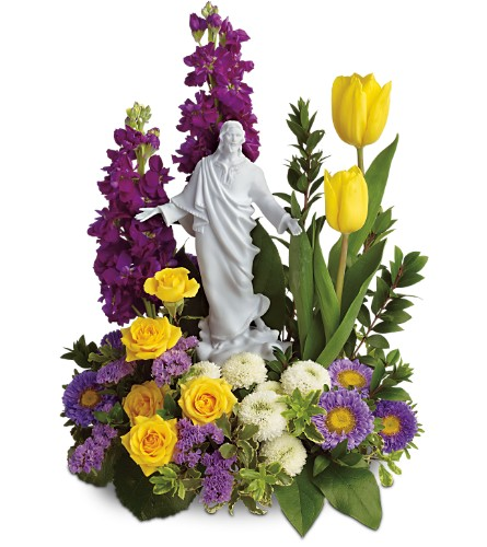 Teleflora's Sacred Grace Bouquet in Fort Worth TX, TCU Florist