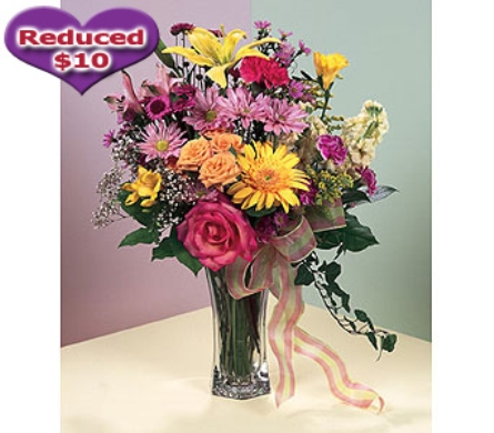 Heart Felt Thoughts Vase in usa-send-flowers NJ, Stanley's America's Florist & Gifts