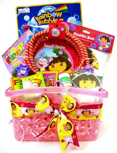 KGB7 ''Dora Playtime''  Gift Basket in Oklahoma City OK, Array of Flowers & Gifts